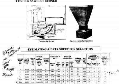 Conifer Sawdust Burner001